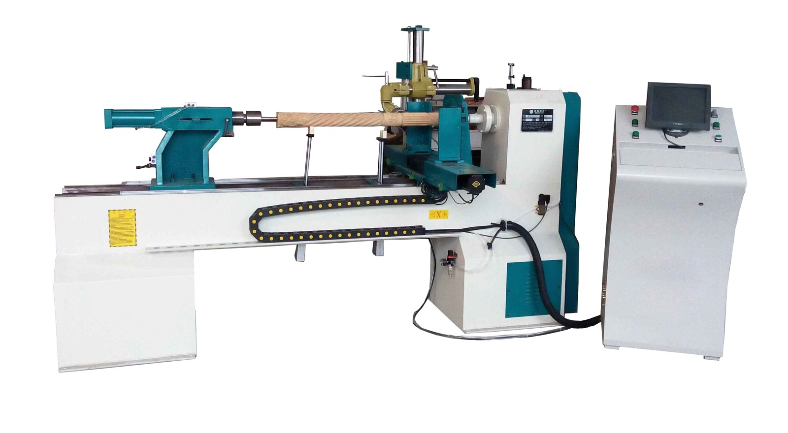 cnc wood turning machine cnc lathe for wood (DL1500) - China CNC ...