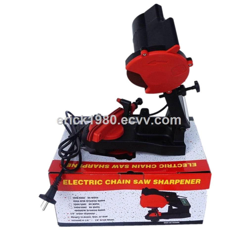 Table model chain grinder chain sharpener filing machine