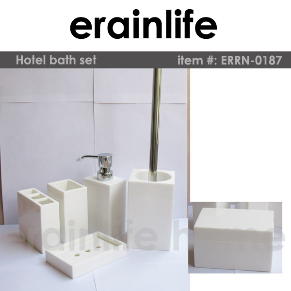 China factory price bathroom accessories hotel bathroom for Hotel bathroom supplies