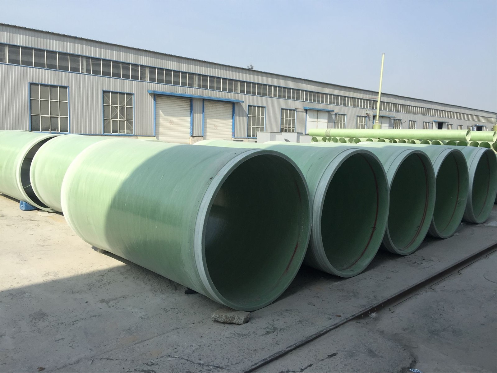 Frp sand filled pipes for underground purchasing souring