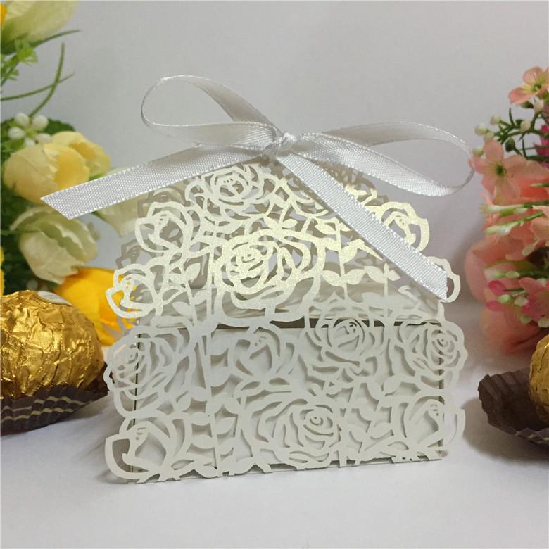 Wedding Door Gift: Wedding Candy Bar Boxes For Guests,Wedding Door Gift Box