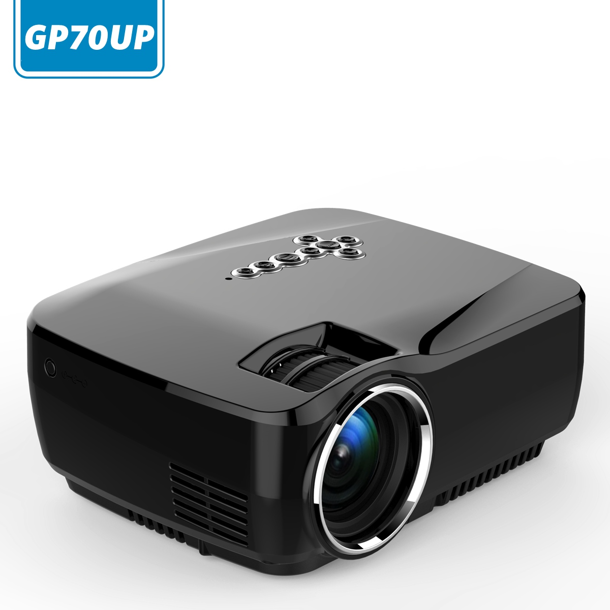 Gp70up micro bluetooth wifi simplebeamer android4 4 8g 1g for Wireless micro projector