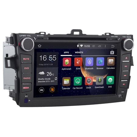 8 Inch Android Car DVD GPS for Toyota Corolla