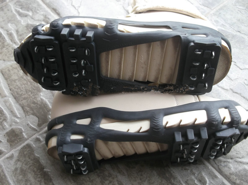 Ice cleats for fishing usage purchasing souring agent for Ice fishing cleats