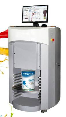 Paint dispenser paint shaker aoke paint tinting for Paint tinting machine