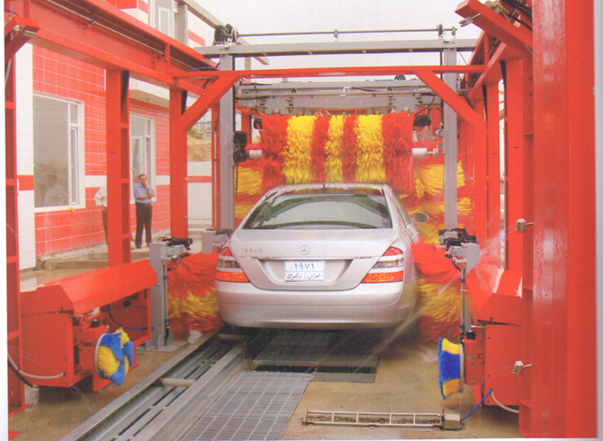 Efficient Water Jet Fast Tunnel Car Wash Machine With High