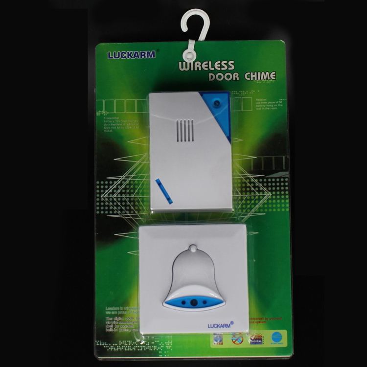 Funny Led Light Battery Operated Wireless Doorbell D9688