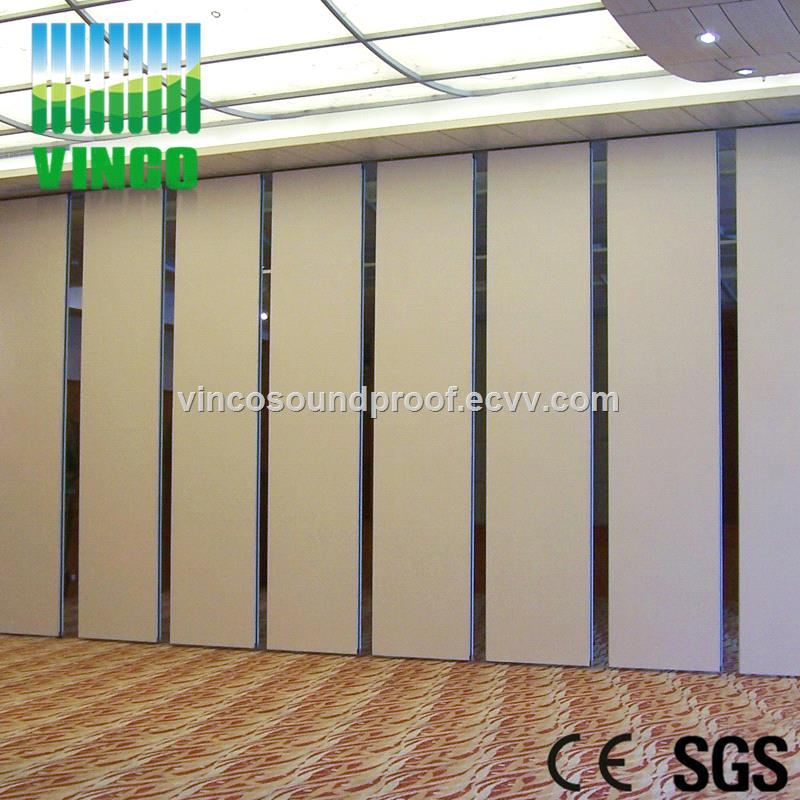 Movable Screen Acoustic Sliding Doors Partition Wall Panel For Office