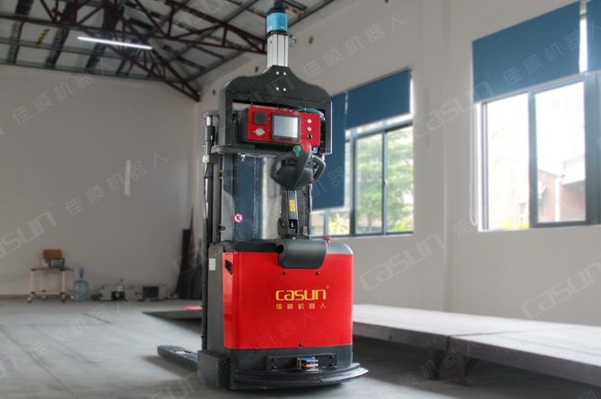 Forklift Agv Laser Navigation Automated Guided Vehicle