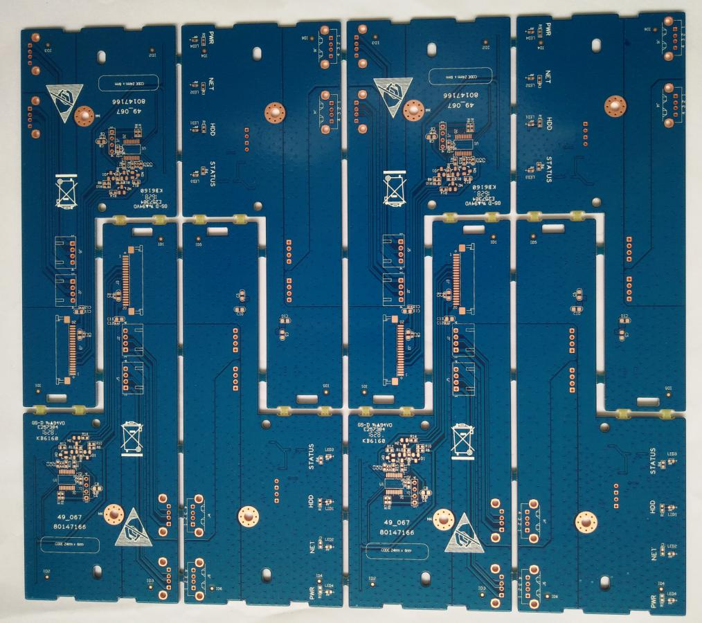 Construction Of A Doublesided Printed Circuit Board