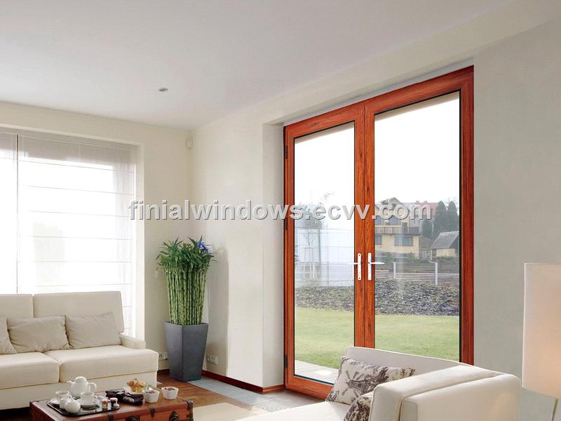 High end thermal break aluminum french door purchasing for High end french doors