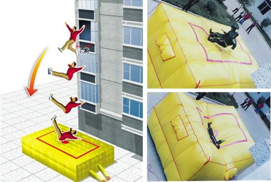 Jumping cushions,Air bag,escape cushion,Rescue Air cushions