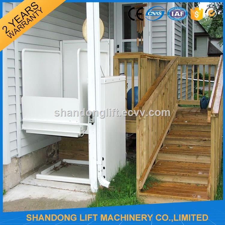 Hydraulic vertical platform home lift elevator for sale for House elevator for sale