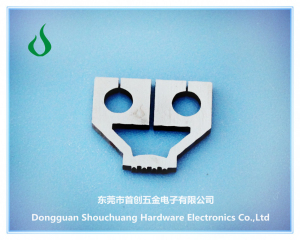 Enamelled aluminium wire spot welding heads