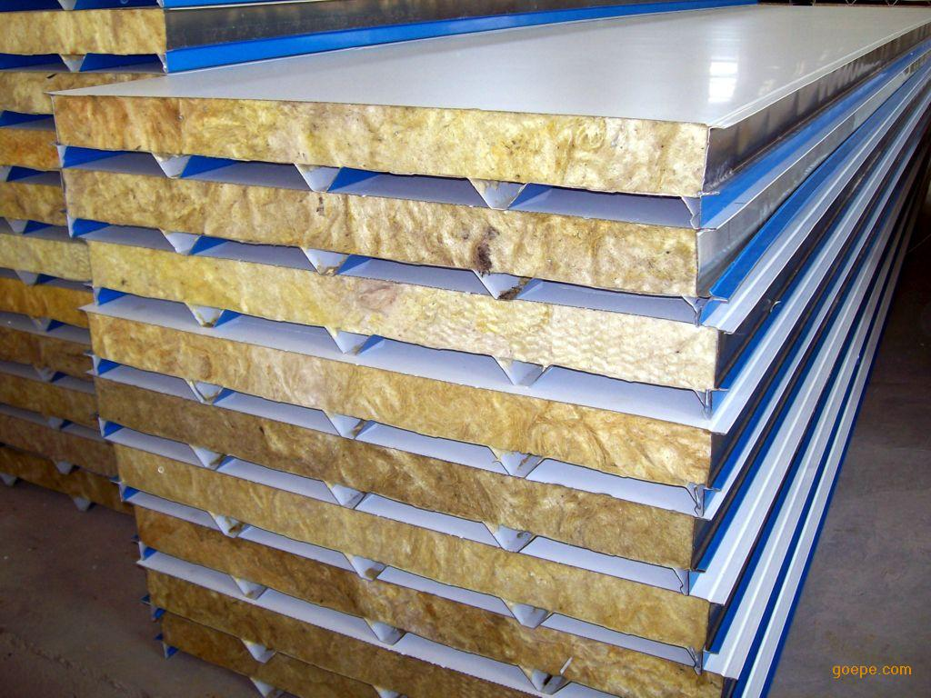 Fireproof rockwool sandwich panels for wall purchasing for Fireproof rockwool