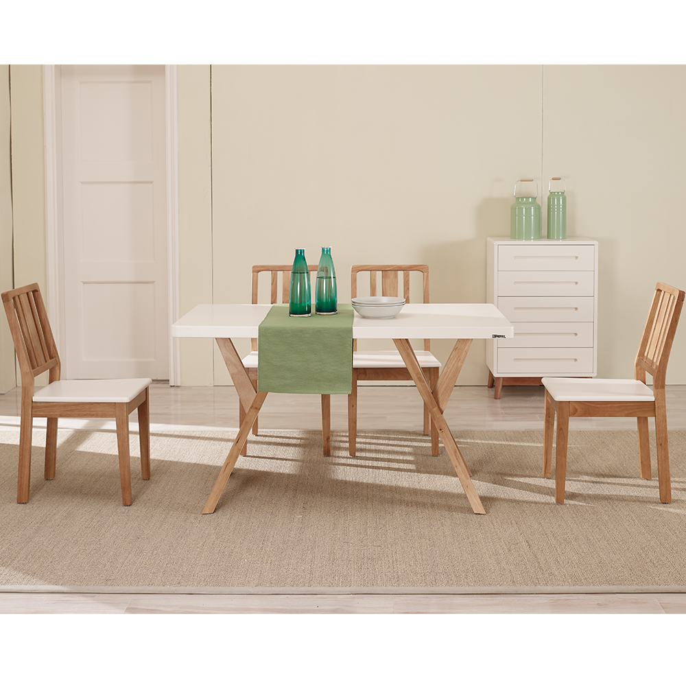 Replica dining room furniture modern wood dining table set for Copy designer furniture