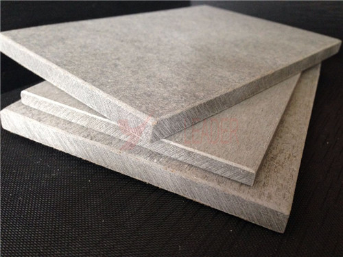 Fire Resistant Cement : Fire resistant dark color fiber cement board purchasing