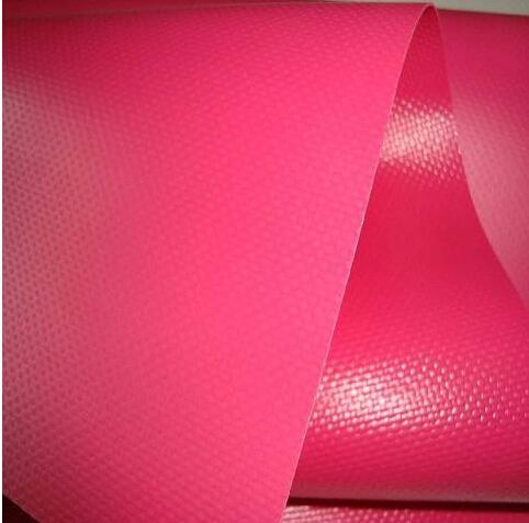 Fire Retardant PVC Coated Polyester Fabric PVC Knife Coated Fabric Tarpaulin