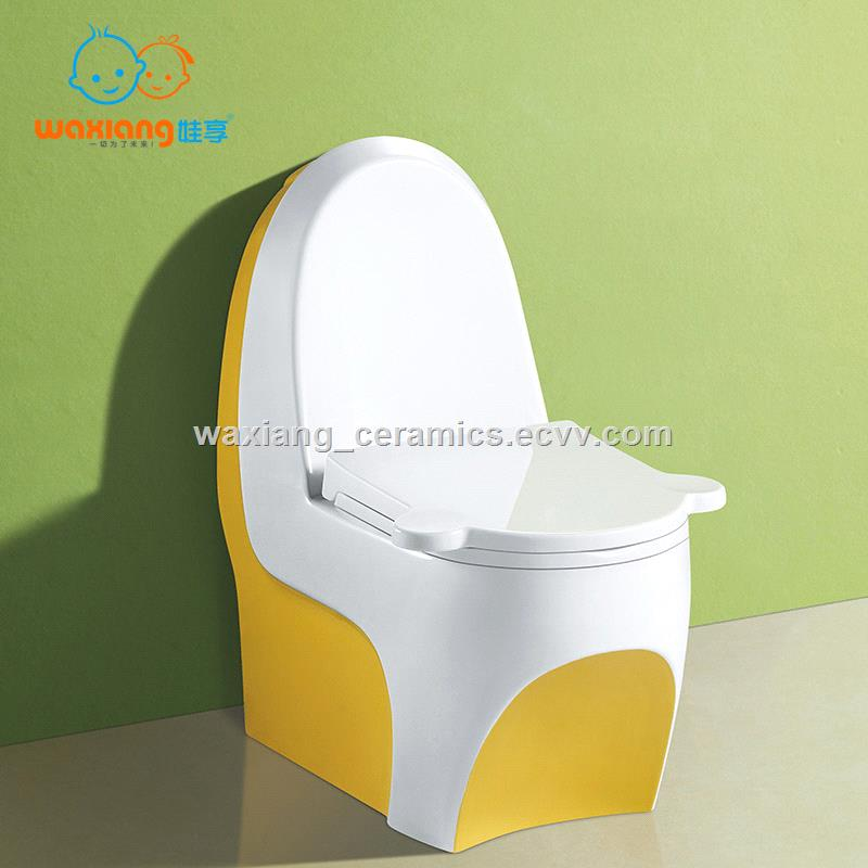 Waxiang Wa 8000 Child S White Ceramic Round Small Toilet Fashion Designed Purchasing Souring