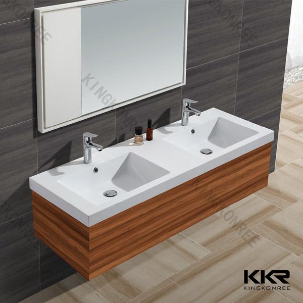 Bathroom double wash basin wash basin bathroom sink - Double wash basin bathroom ...
