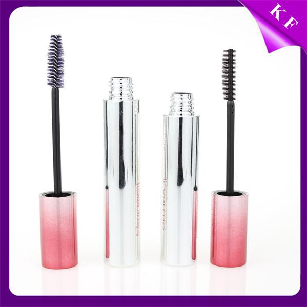 Shantou Kaifeng Round Pink Screen printing plastic waterproof mascara container CM-2210