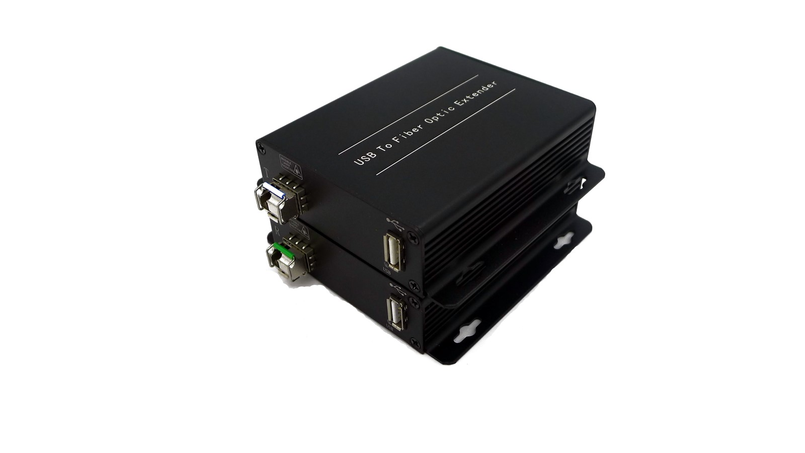 Optical Fiber Monitor : Usb extender to fiber optic distance up m for