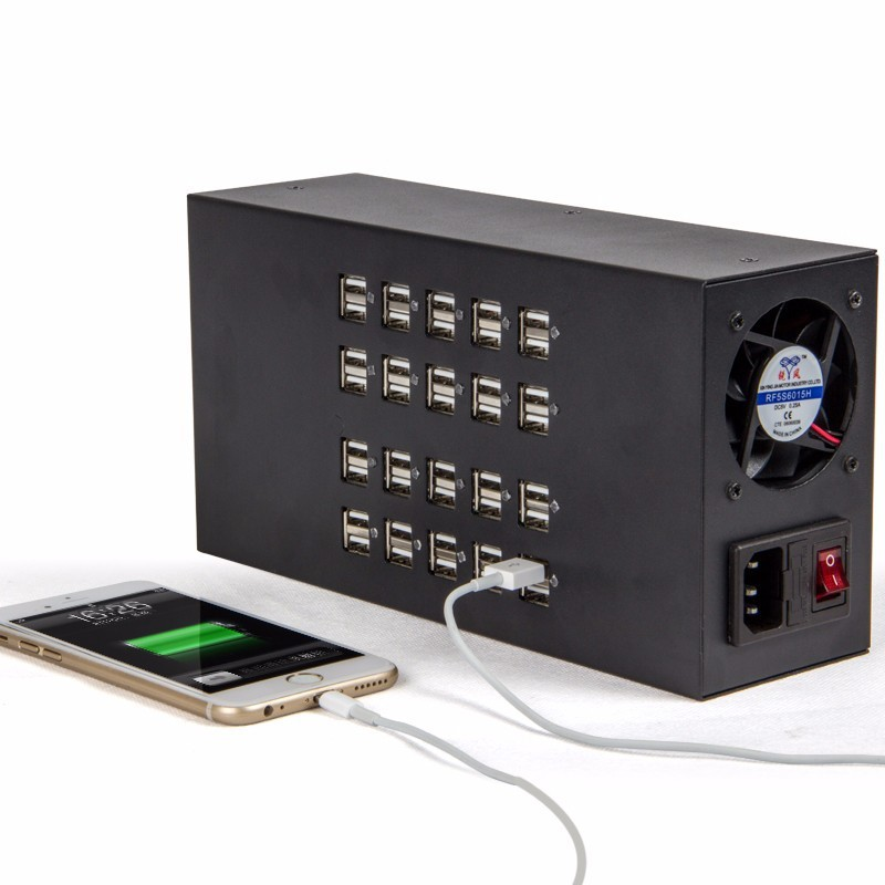40 ports 40a 200w usb charger phone charging station industrial usb power purchasing souring. Black Bedroom Furniture Sets. Home Design Ideas