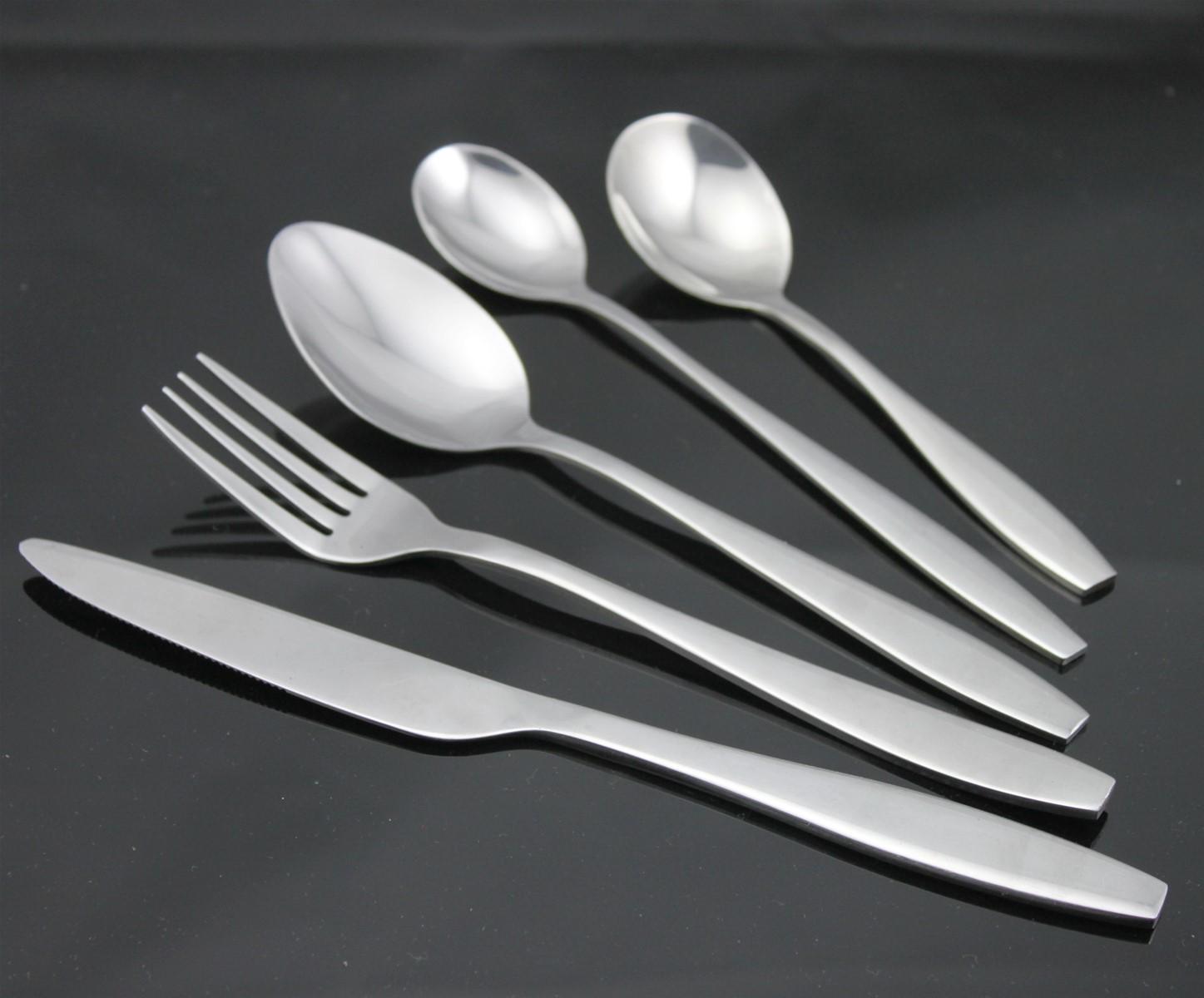 stainless steel cutlery set dinnerware tableware flatware china mainland flatware sets. Black Bedroom Furniture Sets. Home Design Ideas