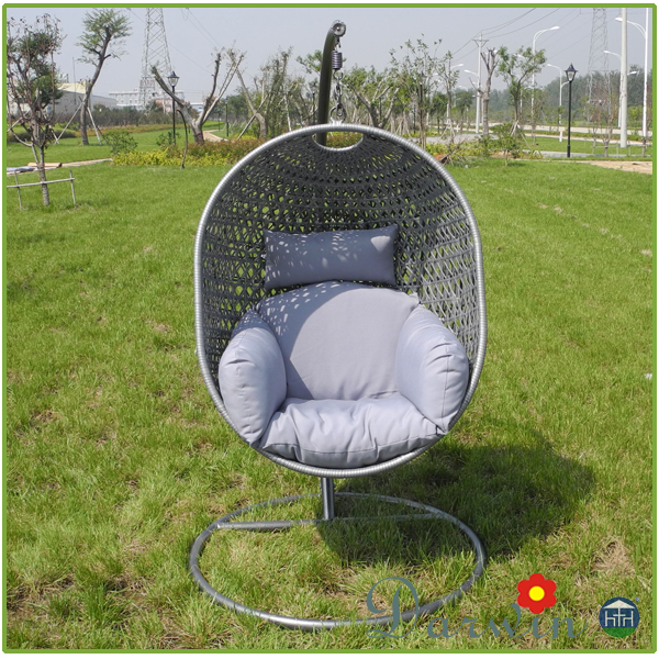 Outdoor hanging egg chair swing chair