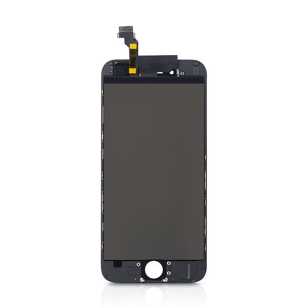For iphone 6 lcd display iphone 6 touch screen lcd digitizer assembly with frame