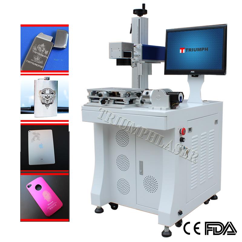 Metal Fiber Laser Marking Machine For Engraving Metal Id