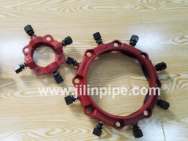 Ductile iron pipe fittings uni flange purchasing