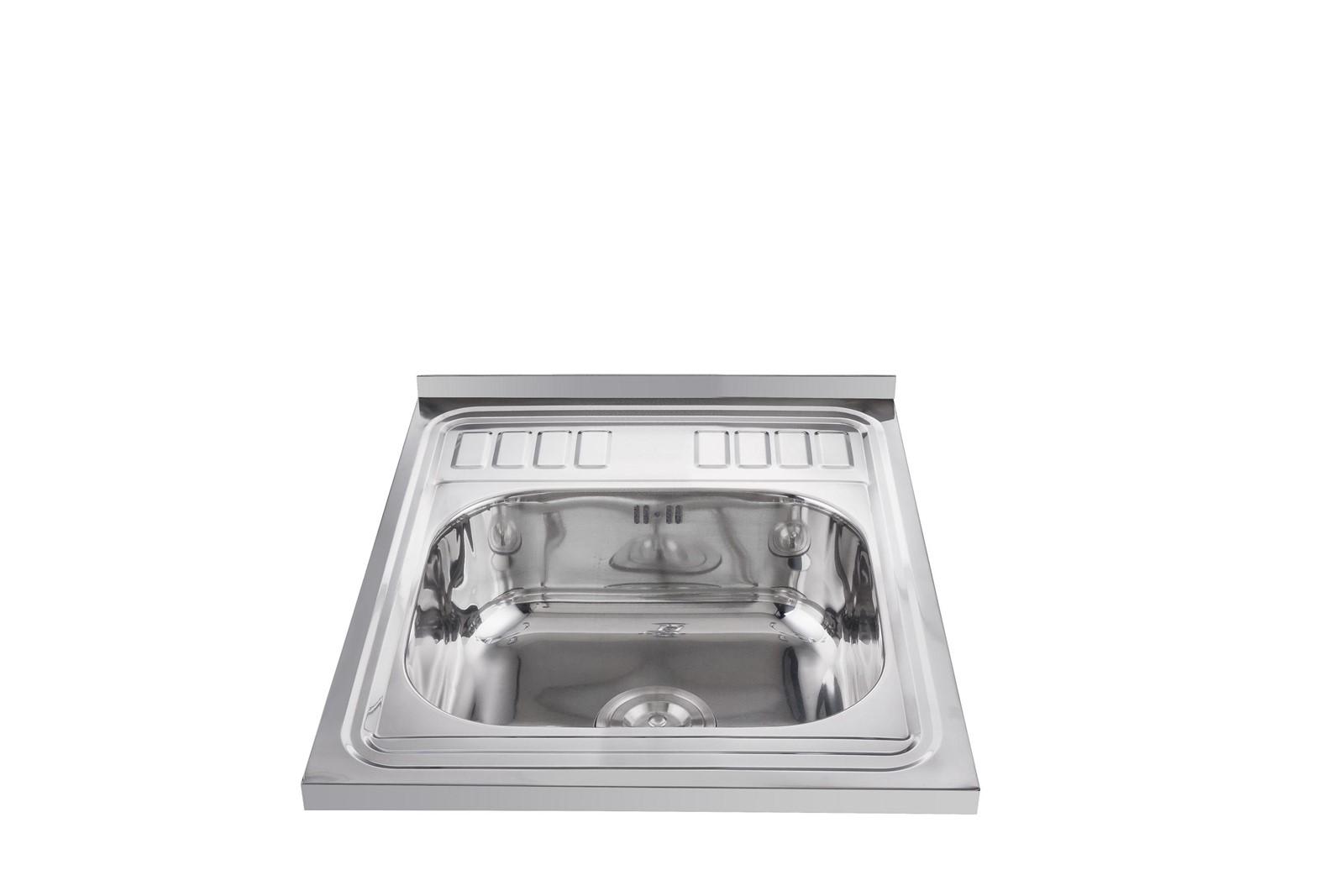 High quality modern single bowl layon kitchen sinks 60 50 for High quality kitchen sinks