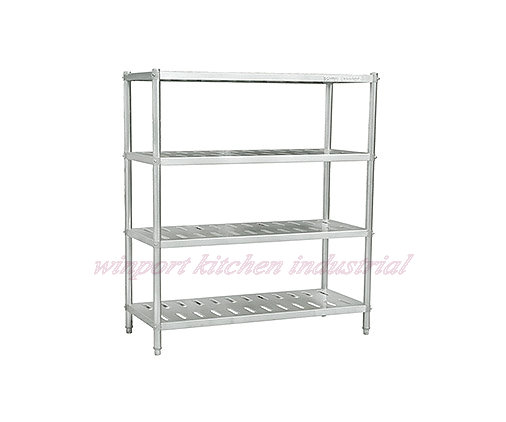 Commercial Kitchen Stainless Steel Shelf / Rack