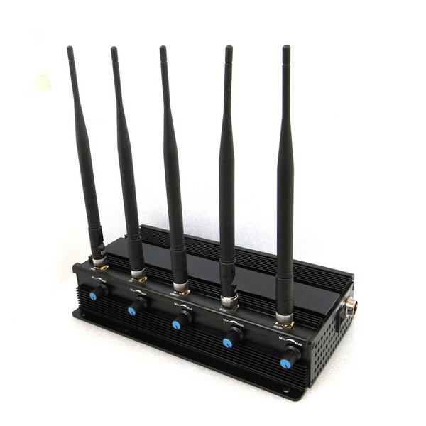 3g 4g wimax cell phone jammer & lojack jammer - Mini Portable Triple Frequency GPS Jammer With Built-in Antenna + Light Brown (GPS L1/L2/L5)