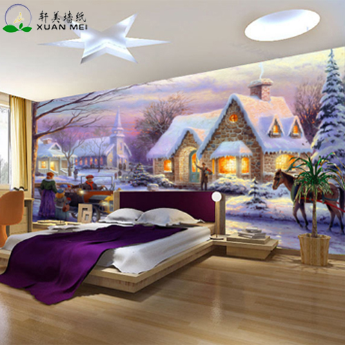 Quality customizable 3D interior home decoration custom