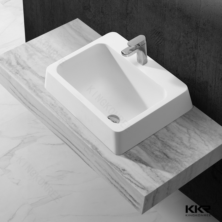 Best Quality Solid Surface Cheap Hand Wash Basin