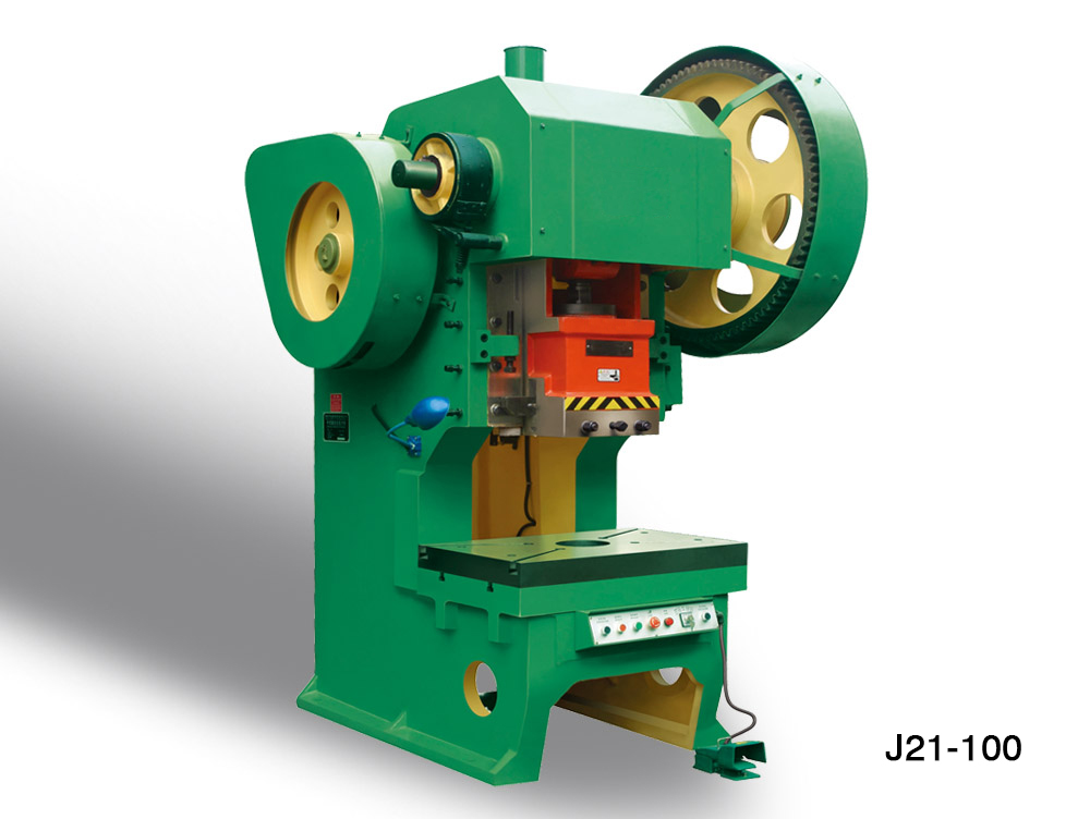 J21-100T punchine machine for cold blanking plate and bag ...