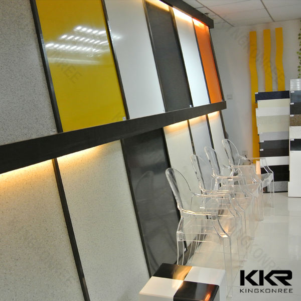 Solid Surface Wall Cladding : Corian artificial stone acrylic solid surface wall