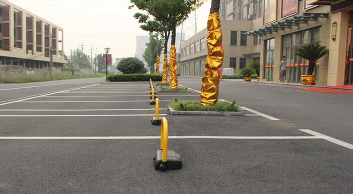 Bluetooth Cellphone Software Control Automatic Parking Bay Barrier