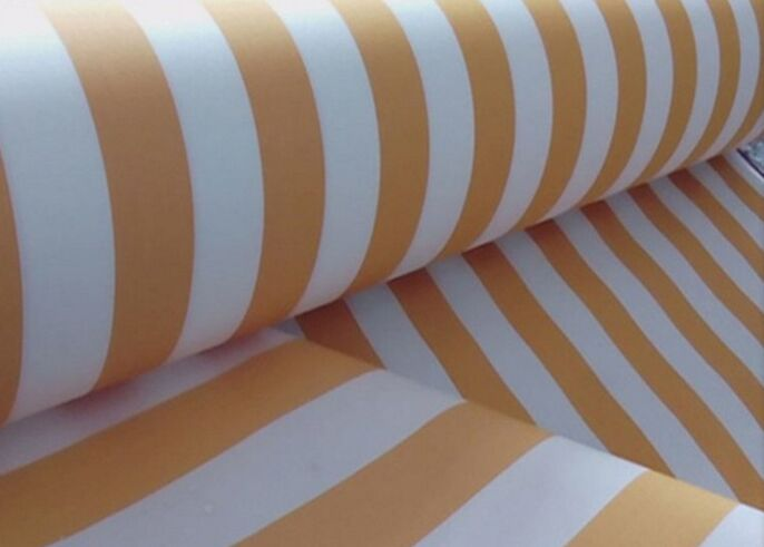 100% polyester solution dyed spun yarn oxford awning