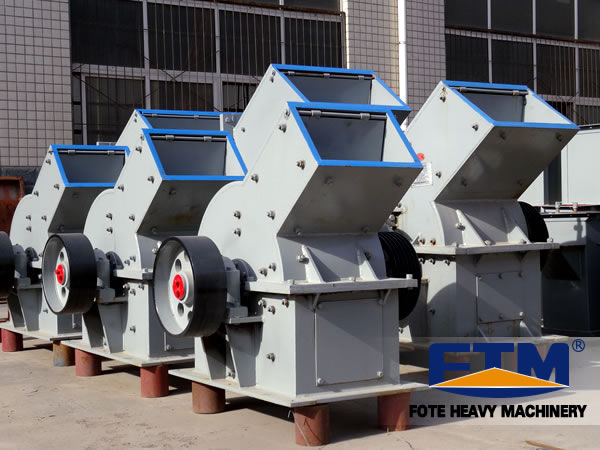 Hammer Crushing Stone : Hammer crusher type and new condition glass bottle or