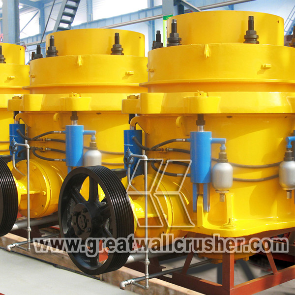 Hydraulic cone crusher sales market