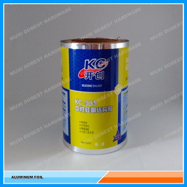 Aluminium Composite Foil For 600ml Silicone Sealant From