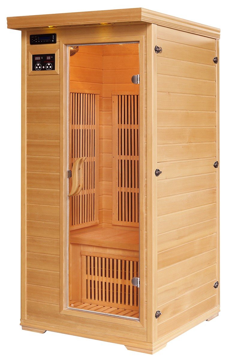 1 person far infrared sauna room purchasing souring agent purchasing service platform. Black Bedroom Furniture Sets. Home Design Ideas