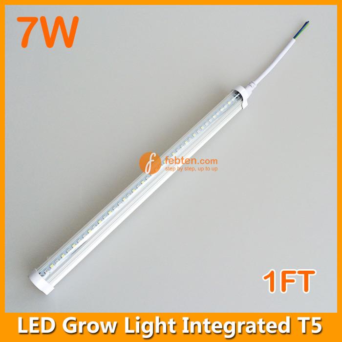 7w led grow tube light 1ft t5 grow lighting 1ft led grow light febten. Black Bedroom Furniture Sets. Home Design Ideas