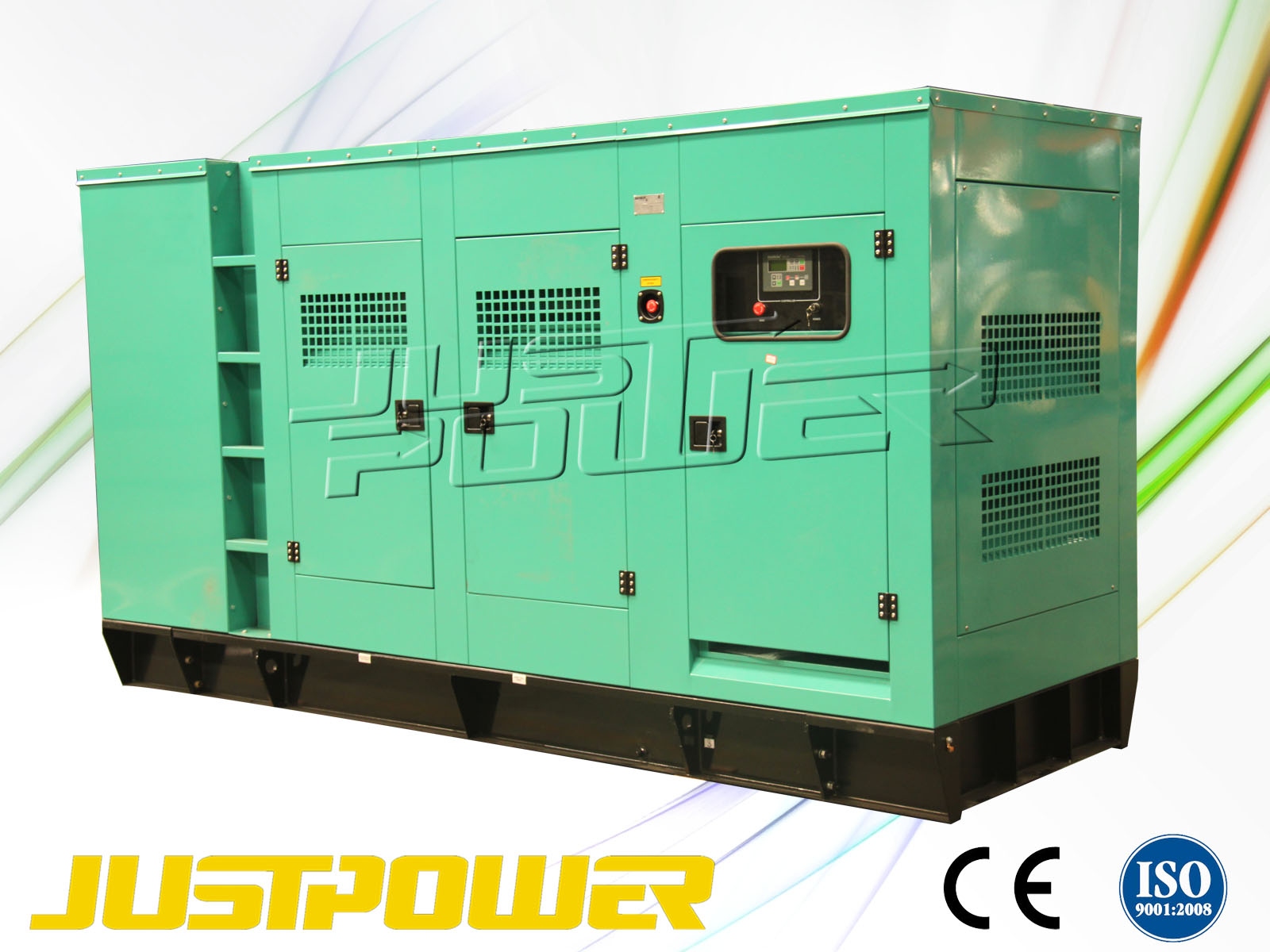 silent cummins diesel engine generator set