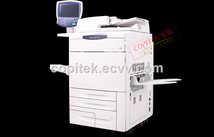 Used Copier Xerox 7775 Remanufactured in Good Condition