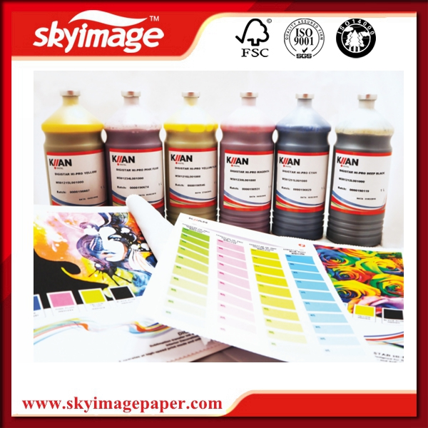 Premium Italy Formula Kiian Digistar Hi-Pro Sublimation Ink For DX-5/7