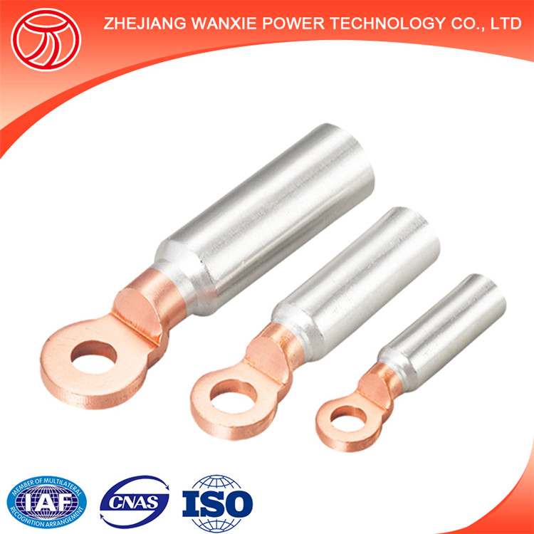 High Voltage Cable Lugs : Dtl china supplier high voltage bimetallic cable lugs